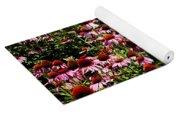 A Field Of Echinacea Yoga Mat