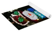 A Long Snow Ornament- Vertical Yoga Mat