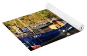 A Peaceful Canal Scene - The Netherlands L B Yoga Mat