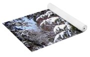 A Peaceful Winter Day Yoga Mat