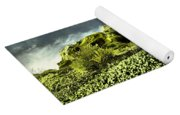 A Pointed Hilltop Yoga Mat