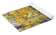 A Smokey Mountain Stream  Yoga Mat