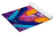 Abstract 10316 - Cropped Yoga Mat