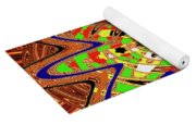 Abstract #1859drawpc Yoga Mat