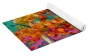 Abstract Autumn IIi Yoga Mat