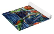 Abstract Floral Yoga Mat
