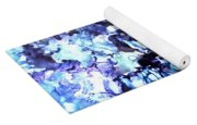 Abstract Garden Yoga Mat