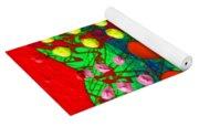 Abstract Haert 80218 Yoga Mat