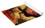 Abstract Japanese Maple Tree 2 Yoga Mat