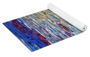 Abstract Latte Stone Yoga Mat