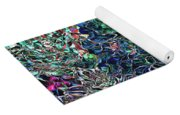 Abstract Pattern Of Colors Yoga Mat
