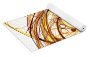 Abstract Pen Drawing Eleven Yoga Mat