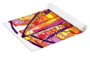 Abstract Pen Drawing Fourteen Yoga Mat