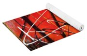 Abstraction Yoga Mat