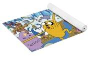 Adventure Time Yoga Mat