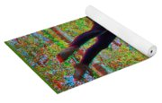 Aerial Artist - Use Red-cyan 3d Glasses Yoga Mat