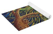 All Is Woven By The Light Yoga Mat