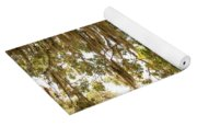 Allamanda And Oak Tree Yoga Mat