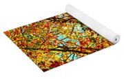 Amazing Fall Foliage Yoga Mat