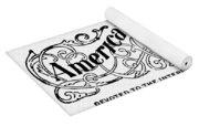 American Federationist Yoga Mat