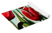 Among The Tulips Yoga Mat