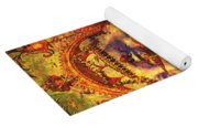 Ancient Of Days Yoga Mat