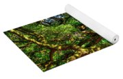 Angel Oak Morning Shadows Charleston South Carolina Yoga Mat