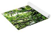 Apple Blossom Digital Painting Yoga Mat