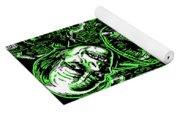 House Of Monsters Frankenstein Dracula Phantom Horror Movie Art Yoga Mat