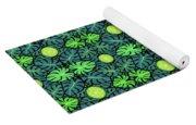 Monstera Leaves Pattern Yoga Mat