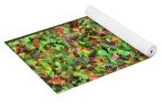Leaf Riot - Yoga Mat