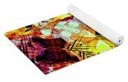Graffiti Style - Markings On Colors Yoga Mat
