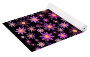 Purple Polka Yoga Mat