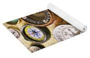 Assorted Compasses Yoga Mat