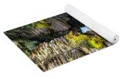 Athabaska River Slot Canyon Yoga Mat