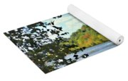 Autumn Along The New River - Bisset Park - Radford Virginia Yoga Mat