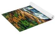 Autumn Blackwater Falls - Paint 3 Yoga Mat