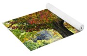 Autumn By The River On 105 Yoga Mat