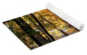 Autumn Country Lane Yoga Mat