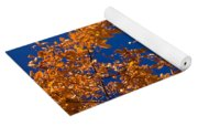 Autumn Flag Yoga Mat