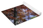 Autumn Forest Canopy Yoga Mat