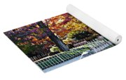 Autumn Glow In Manito Park Yoga Mat