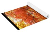 Autumn Gold Poster Yoga Mat