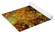 Autumn In Forest Yoga Mat