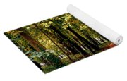 Autumn In The Park Yoga Mat