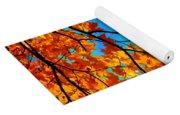 Autumn Leaves 7 Yoga Mat