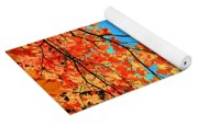 Autumn Leaves 8 Yoga Mat