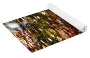 Autumn Leaves Reflections Yoga Mat