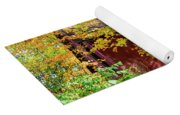 Autumn Michigan Barn  Yoga Mat