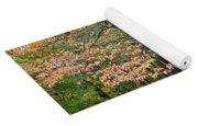 Autumn Paints A Dogwood And Ferns Yoga Mat